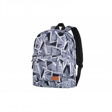 """Рюкзак для ноутбука 2E 13"""" TeensPack Absrtraction, grey Фото"""