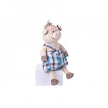 Мягкая игрушка Same Toy Свинка в комбинезоне 45 см Фото 1