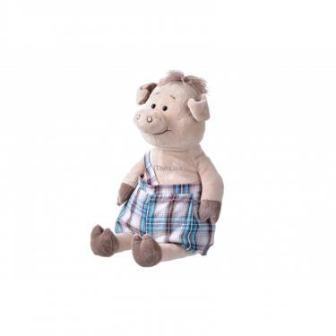 Мягкая игрушка Same Toy Свинка в комбинезоне 45 см Фото