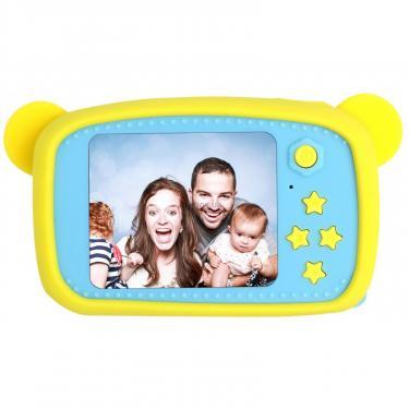Интерактивная игрушка XoKo Bear Цифровой детский фотоаппарат желтый Фото 1