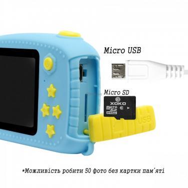Интерактивная игрушка XoKo Bear Цифровой детский фотоаппарат желтый Фото 2