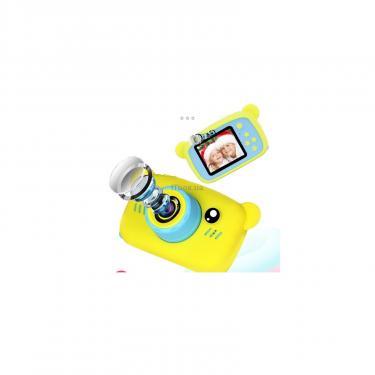 Интерактивная игрушка XoKo Bear Цифровой детский фотоаппарат желтый Фото 4