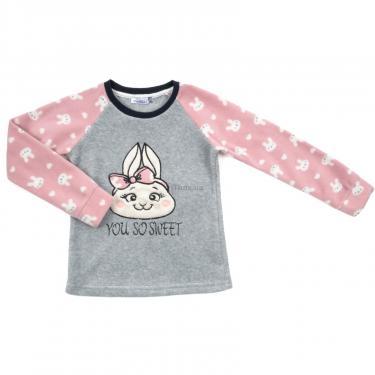 Пижама Matilda флисовая (11013-4-164G-pink) - фото 2
