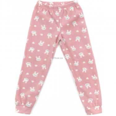 Пижама Matilda флисовая (11013-4-164G-pink) - фото 3