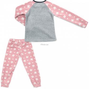 Пижама Matilda флисовая (11013-4-164G-pink) - фото 4