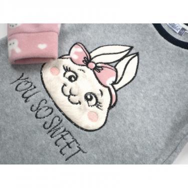 Пижама Matilda флисовая (11013-4-164G-pink) - фото 7
