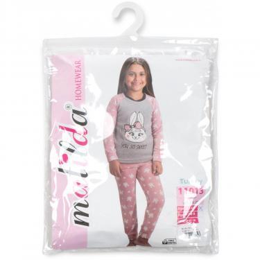 Пижама Matilda флисовая (11013-4-164G-pink) - фото 8