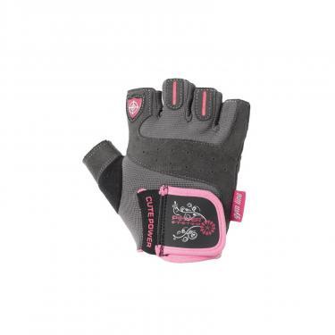 Перчатки для фитнеса Power System Cute Power Woman PS-2560 XL Pink (PS-2560_XL_Pink) - фото 1