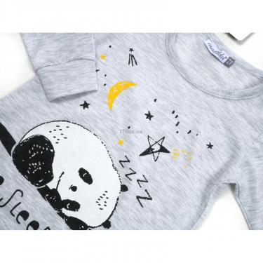 Пижама Matilda с пандами (12122-2-104B-gray) - фото 4
