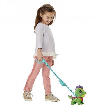 Интерактивная игрушка Hasbro Большой воспитанник на поводке Динозавр Фото 2