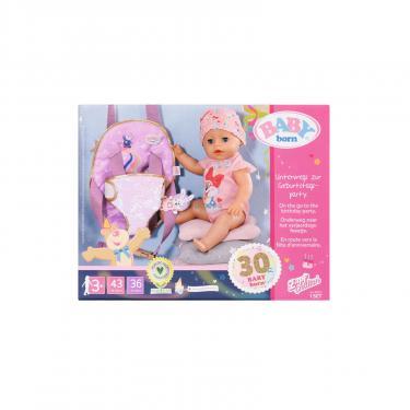Аксессуар к кукле Zapf Рюкзак-кенгуру Baby Born День Рождения - Прогулка Фото 9