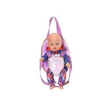 Аксессуар к кукле Zapf Рюкзак-кенгуру Baby Born День Рождения - Прогулка Фото 3