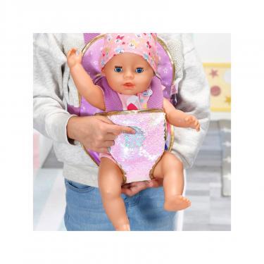 Аксессуар к кукле Zapf Рюкзак-кенгуру Baby Born День Рождения - Прогулка Фото 7