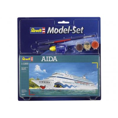 Сборная модель Revell Корабль AIDA 1:1200 (65805)