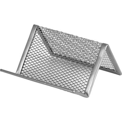 Подставка для визиток Axent 95x80x60мм, wire mesh, silver (2114-03-A)