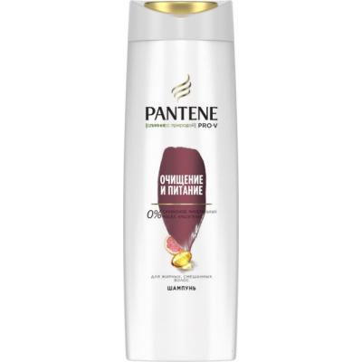 Шампунь Pantene Слияние с природой Очищение и Питание 400 мл (4084500673748)