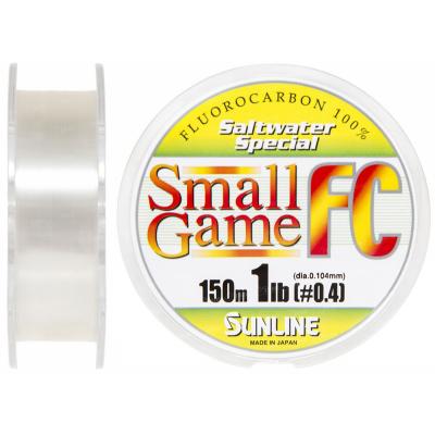 Флюорокарбон Sunline SWS Small Game FC 150м 0.104мм 1.0LB (1658.03.45)