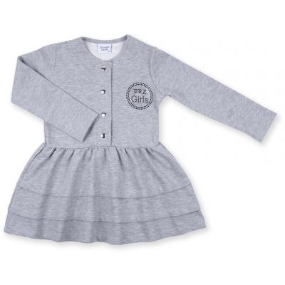 Платье Breeze с пуговичками (8385-110G-gray)